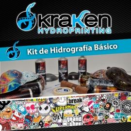Kit de Hidrografía/Water Transfer Printing en Aerosol Básico