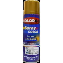 Pintura en Aerosol Color Oro Metálico (automotriz)