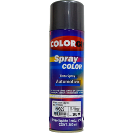 Pintura color gris grafito en aerosol por 300ml