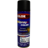Pintura automotriz en aerosol color negro mate x 300ml
