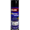 Pintura automotriz en aerosol Negro brillante rapido por 300ml