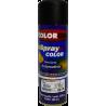 Pintura automotriz en aerosol negro alta temperatura por 300ml