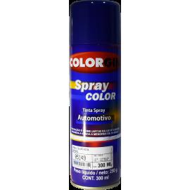 Pintura en Aerosol Color Azul Zafiro por 300ml
